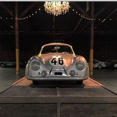 Today we celebrate 24 hours of #LeMans. This actual car was the first #Porsche to win this special race. Cameron Healy's 1951 #Gmund SL restored in all its glory by legendary craftsman @rodemory @luftgekuhlt #Luft4
