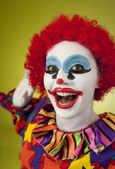 Image result for female clown