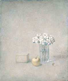 Painting by Russian artist Victor Koulbak Silverpoint, Light Of Life, Stone Painting, Still Life, Contemporary Art, Arts And Crafts, Drawings, Glass, Artwork