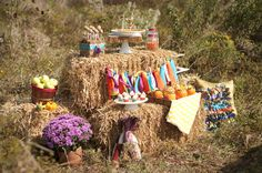Rustic Thanksgiving Party - Fall, Harvest Party Ideas|