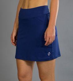 720c8f6a143 Napa (Blue Depth) JoFit Ladies  amp  Plus Size Mina Golf Skorts (Long