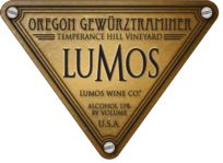 2009 Lumos Gewurztraminer - Temperance Hill Vineyard.  A beautiful dry wine with classic Gewürztraminer aromatics. Very spicy, floral, and citrusy. All stainless fermentation. Silver Medal winner at the 2011 Oregon Wine Awards. 195 cases. 13% alc. Vegan and food Alliance and Salmon Safe Certified. $19.00 http://lumoswine.com/availability.htm |  www.lumoswine.com  |  Phone & email:  541-929-3519 or  lumos@lumoswine.com