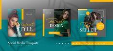 YusufSangdes | Freepik Social Media Template, Social Media Design, Banner Fashion, Black And White Instagram, Web Banner Design, Instagram Post Template, Sale Banner, Flyer, Banner Template