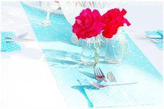Tischdeko zum Geburtstag Bestecktaschen aus Papierservietten: