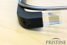 Google Glass Smart Glasses, Black, with Prism and Camera