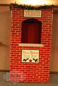 The Polar Express- A Ward Christmas Party - Noel - christmas Polar Express Christmas Party, Ward Christmas Party, Christmas Program, Xmas Party, Polar Express Theme, Polar Express Movie, Polar Express Train, Office Christmas Decorations, Christmas Themes