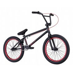 2013 Eastern Traildigger Complete BMX Bike Matte Black/Red