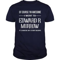 Edward R Murrow High School T-Shirts, Hoodies. Check Price Now ==► https://www.sunfrog.com/Names/Edward-R-Murrow-High-School-Navy-Blue-Guys.html?id=41382