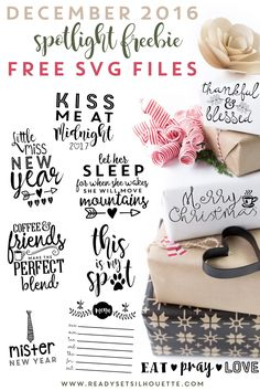 10 SVG/PNG FILES JUST FOR YOU! COMMERCIAL USE PERMITTED.    Click here to Download     Click here to Download November 2016 Fre...
