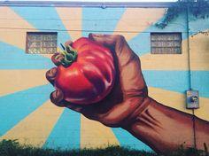 #covernashville #tomato #tomatofest #tomatoartfest #eastnashville #nashville #fivepoints