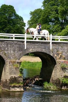 There are around 1500 acres of parkland for horse riding at Mount Juliet, the two centuries old Irish estate.