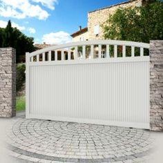 Aluminium sliding gate EMALU ARAL Portail 2, Portail Aluminium Coulissant,  Portail Maison, Portail ab8ade2d8562
