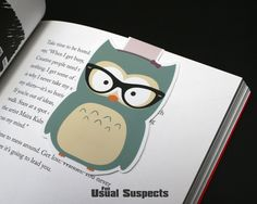 Who gives a hoot about your study habits? Lulu does! This cute little owl bookmark is the perfect reading companion. You'll sleep well knowing that this nocturnal nerd is protecting your precious page