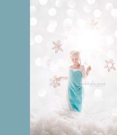 thème, fille, enfant, Frozen, Disney, reine des neiges