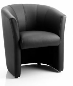 Neo Single #Reception Leather Tub #Chair  Starting from  £139.99 (excl. VAT)     Single Tub Chair     Reception / Waiting Room      Soft Bonded Leather     Line stitch detail     Feet for stability     Perfect in office receptions, dentists, doctors, waiting rooms and more!     Black Bonded Leather