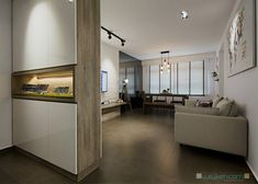 What you get when you combine modern style and Scandinavian style? Probably the lightest home of them all. Both Scandinavian and modern style require a Shoe Cabinet Design, Scandinavian Interior Design, Scandinavian Style, Living Room Flooring, Loft, Home Renovation, Living Room Designs, Living Rooms, New Homes