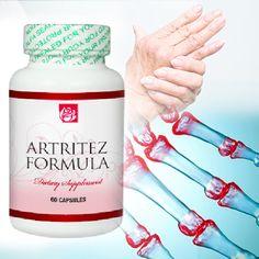Artritez Formula 60 Capsulas. Artritez Formula un producto sensacional para combatir el artritis. COMPRUEBA SUS RESULTADOS!!. MAS INFORMACION EN NUESTRA WEB