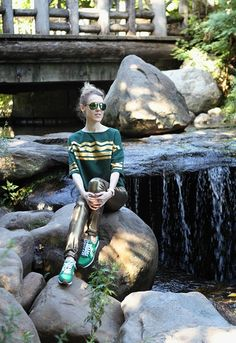 """""""Green, Gold And A Little Bit Of Magic"""" Outfit Post on """"The Wind of Inspiration"""" Blog #twoistyle #outfit #ootd #look #style #fashion #personalstyle #fashionblog #fashionblogger"""