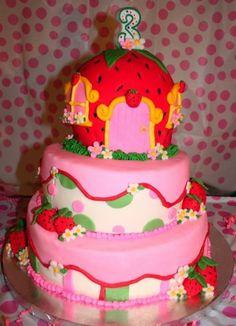 strawberry cake--if E has a Strawberry Shortcake themed Birthday