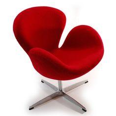 Swan Wool chair @ OVERSTOCK.COM