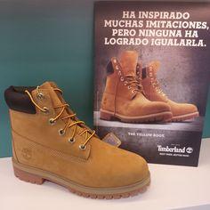 Timberland ''la ORIGINAL bota amarilla'' ha inspirado muchas imitaciones, pero ninguna ha logrado igualarla. Desde 1973. BEST THEN. BETTER NOW.  Hasta el 40 -> 110€