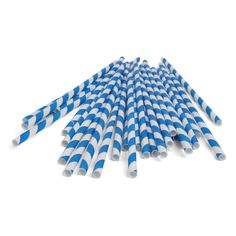 Adorable, retro paper straws!! #ecofriendly #biodegradable #nontoxic Mason Jar With Straw, Cookie Monster Party, Retro Candy, Kids Party Supplies, Baking Supplies, Green Toys, Candy Stripes, Blue Stripes, Biodegradable Products