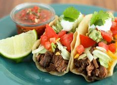 Shredded Beef Tacos: This recipe for shredded beef tacos yields perfectly tender, wonderfully seasoned and flavourful beef. It is so versatile the beef can be used for tacos, enchiladas, taquitos or burritos. | Local Parent. Courtesy Cooking Classy