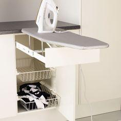 strykebrett i skuff- elkjøp Bedroom Bed Design, Hanging Canvas, Walk In Closet, Modern Kitchen Design, Cabinet, Storage, Interior, Projects, Furniture