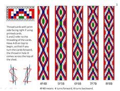 Ravelry: lnrskye's Simple tablet weaving 10 cards