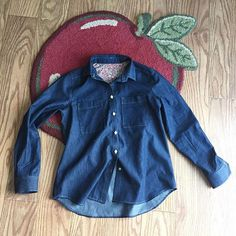 Yay! I just finished off my denim Archer! I can't wait to start wearing this shirt. #grainlinestudio #archerbuttonuparcherbuttonup,grainlinestudioteridodds1
