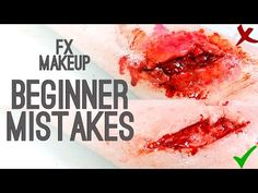 Beginner Mistakes - FX Makeup | Freakmo - YouTube