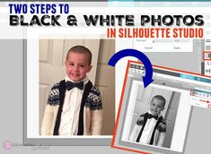 Silhouette Cameo 2, Silhouette School Blog, Silhouette Cameo Tutorials, Silhouette Machine, Silhouette Projects, Black White Photos, Black And White, Cricut Cards, Vinyl Projects