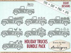 Old Truck svg bundle  truck svg  Holiday Truck svg bundle