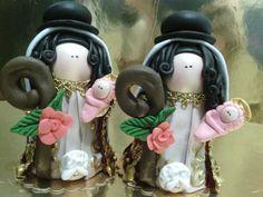 Virgen divina pastora vestida