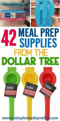 42 Meal Prep Tools From The Dollar Tree, Baking Meal Planning aldi Meal Planning australia Meal Planning breakfast Meal Planning canada Meal Planning Binder, Family Meal Planning, Budget Meal Planning, Budget Meals, Family Meals, Meal Prep Bag, Healthy Meal Prep, Healthy Recipes, Meal Prep Cheap