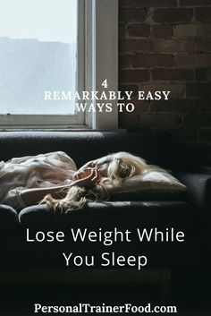 Sleep: everyone wants more. Fat: everyone wants less. Wouldn't it be great if you could lose weight overnight while you catch up on some sleep? @PTrainerFood