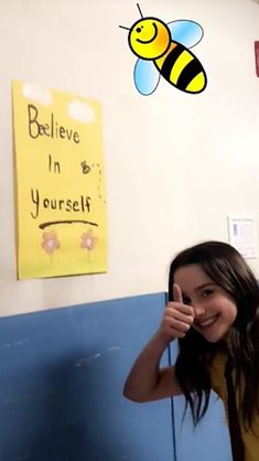 If the princess says it it's true...believe in yourself