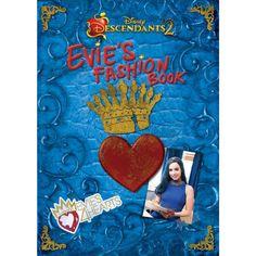 Descendants 2 Evie's Fashion Book (Disney Descendants The Descendants, Descendants Costumes, Descendants Videos, Grand Prince, Mals Spell Book, Beautiful Sketches, Fashion Books, Ideias Fashion, Sofia Carson
