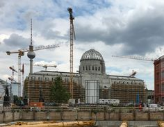 Baustelle Berliner Schloss, August 2016