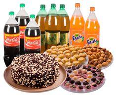 CALCULAR A QUANTIDADE, DE BOLO, DOCES, SALGADOS E REFRIGERANTES PARA UMA FESTA COM TANTAS PESSOAS, VAMOS TER UMA NOÇÃO AGORA, VEM…  http://cakepot.com.br/como-calcular-quantidade-de-doces-bolo-salgados-e-refrigerante/