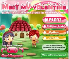 English    is    FUNtastic: A spot the difference interactive story for Valent...
