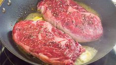 How to cook steaks the traditional way - YouTube
