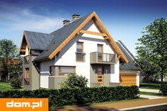 DOM.PL™ - Projekt domu Mój Dom Leopold CE - DOM BM2-44 - gotowy koszt budowy Home Fashion, Cabin, Studio, House Styles, Home Decor, Decoration Home, Room Decor, Cabins, Studios