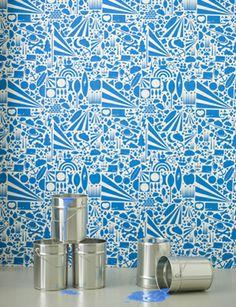 gravity blue wallpaper by Ferm