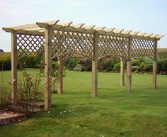 Vurley Fencing garden structures, Pergola, Arches, Gazebos and Benches for sale in Kent Pergola Attached To House, Deck With Pergola, Cheap Pergola, Outdoor Pergola, Pergola Shade, Patio Roof, Diy Pergola, Pergola Plans, Pergola Kits