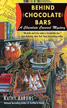Behind Chocolate Bars: A Chocolate Covered Mystery by Kathy Aarons http://www.amazon.com/dp/0425267253/ref=cm_sw_r_pi_dp_Qfrswb0J3FJZ0