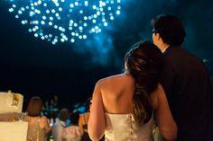 Feuerwerk, einfach immer romantisch.