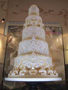 Intricately detailed stunning cake.