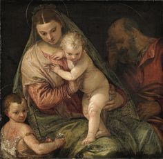 Holy Family, Paolo Veronese