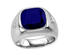 Turquoise Ring Mens Men's Diamond Ring Men's by ATAjewels on Etsy